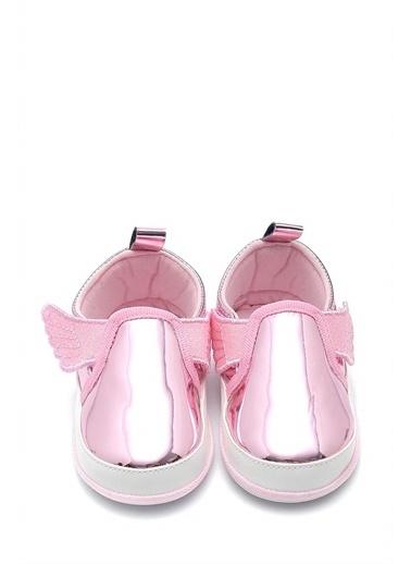 First Step Kanatlı Esnek ve Kaydırmaz İlk Adım Ayakkabısı--F-537 Pembe